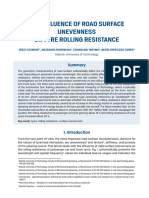 The influence of road surface unevenness on tyre rolling resistance.pdf