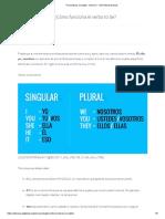 Pronombres en inglés - Nivel A1 - GCFGlobal Idiomas