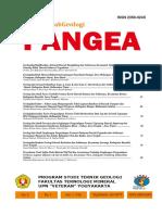 B12. Geologi dan Faktor Faktor yang Mempengaruhi Tebal Lapisan Batubara di Daerah Cintapuri dan Sekitarnya, Kecamatan Simpang Empat Pengaron, Kabupaten Banjar, Kalimantan Selatan