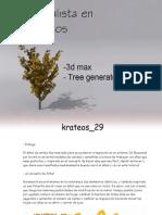 arbol realista en 3d max 1.0