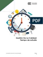 Tiempo de Estudio ASUC00395_GESTIÓN DE LA CALIDAD_015