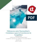 Diferencias entre Nacionalidad y Ciudadania sigun la Constitucion de la republica-convertido