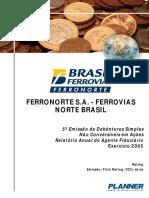 2005 Ferronorte - 5ª Emissão