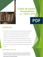 El pensamiento de Tomas  de Aquino