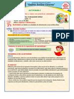 ACTIVIDAD DE APRENDIZAJE Nº 2-SEMANA 29 DEL 20-10-2020