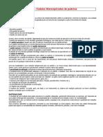 F6 – Ficha de Trabalho sobre Cadeias Hierarquizadas de padrões
