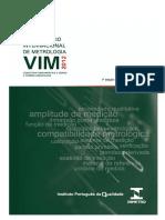 VIM Vocabolário Internacional de Metrologia - IPQ 2012