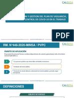 PLAN DE VIGILANCIA PREVENCION Y CONTROL DE COVID-19