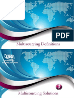 Multisourcing Solutions Definitions & Benefits