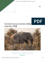 Comment avoir une mémoire d'Éléphant _ Découvre Anki ! - Les Sherpas