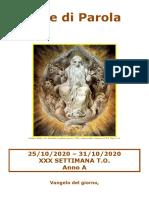 Sete di Parola - XXX Settimana T.O. - A.doc