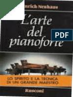(La musica) Heinrich Neuhaus, V. Voskobojnikov (editor) - L'arte del pianoforte. Note di un professore-Rusconi Libri (1985).pdf