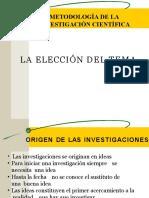 METODOLOGIA DE LA INVESTIGACIÓN CIENTIFICA