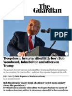 'Deep Down, He's a Terrified Little Boy'_ Bob Woodward, John Bolton and Others on Trump