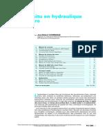 Techniques De L'Ingénieur - Mesures in situ en hydraulique à surface libre