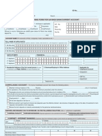 Corp bank SB application form