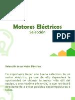 Motores Eléctricos - Selección