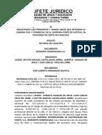MEMORIAL DE CASACION JOSE ALBERTO HERNANDEZ BATISTA