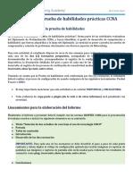 !!!PRUEBA DE HABILIDADES CCNA II-2020