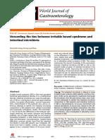 Papel Da Microbiota Intestinal Na SII WJG 2014