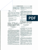 APRUEBAN INSTRUCTIVO PARA LA FORMULACION DE INDICADORES DE DESEMPEÑO DE LAS POLITICAS NACIONALES DE OBLIGATORIO CUMPLIMIENTO EN MATERIA DE JUVENTUD