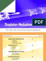 Shopleiter Mediadaten 2011 :