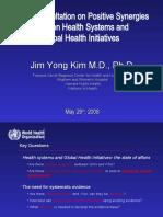 GLOBAL HEALTH INITIATIVES JAN 2020