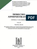 La actuación de la administración