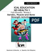 G11 PEH1 Q1 Mod1 Aerobic, Muscle and Bone