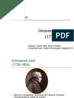 Presentación Immabuel Kant 6°A