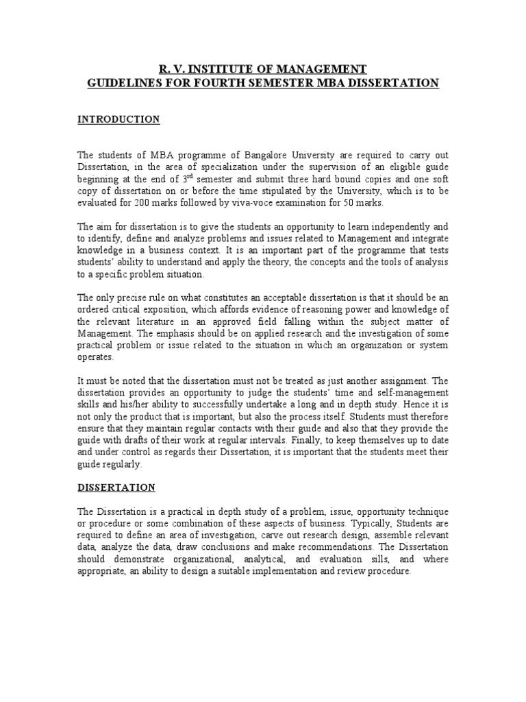Dissertation thesis evaluation