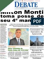 Jornal O Debate, edição virtual