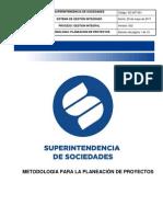 GC-MT-001 Metodologia para la Planeacion de Proyectos