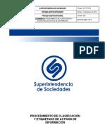 GC-PR-004 Procedimiento Clasificacion y Etiquetado de Activos de Informacion