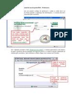 Manual de uso do portal RM - Professor