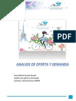 ANALISIS DE OFERTA Y DEMANDA -