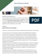 Desafios para a prática da leitura no Brasil – Correção e Ensino de Redação