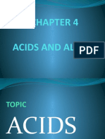 CHAPTER 4 Acids and Alkalis