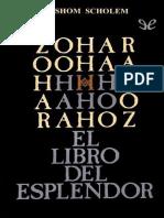 Zohar, El Libro Del Esplendor