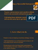 10 steps to ENTREPRENEUR