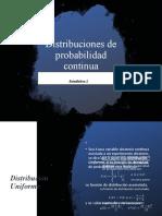 Distribuciones de probabilidad continua ss 2020