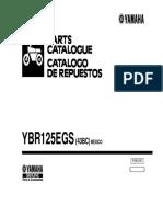 catalogo de partes ybr 125g