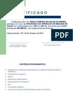 NR 10 - MAQUINA DE SOLDA
