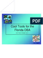 CoolTools for the Florida DBA