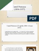 Camil Petrescu powerpoint