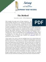 The Method, by Ed Muzika