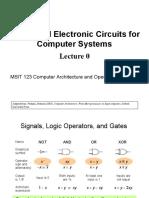 Digital Logic and Electronic Circuits