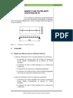 O13_Exemple_1_Poutre mixte isostatique en T