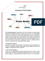 Introduction of Print Media – Visual Catalyst | Types of Various Print Media