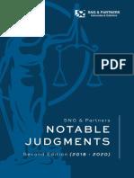 Notable Judgements 2v2